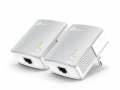 P-LINK TL-PA4010PKIT AV500+ Powerline Kit with AC Pass Through - Bridge - collegabile a parete